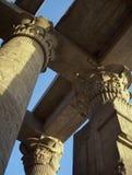 Columns of Kom-Ombo stock photography