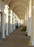Columns in Kostroma. Royalty Free Stock Image