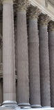 Columns At Legislative Building Edmonton, Alberta Royalty Free Stock Photos