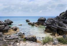 Columns of limestone rocks Royalty Free Stock Photography