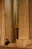 Columns and Man Stock Photos