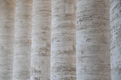 Columns of marble in a row Stock Photography