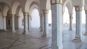 Columns Muslim Mosques in Egypt. stock footage