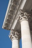 Columns at the National Theater in Munich Stock Photos