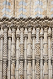 Columns at natural history museum Stock Photos