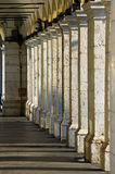 Columns, Nice , france Stock Images