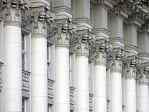 Columns Of Justice Royalty Free Stock Photos