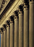 Columns Of Justice Royalty Free Stock Images