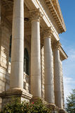 Columns on Old Courthouse Royalty Free Stock Photography