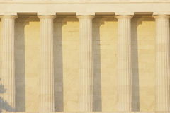 Columns outside of Lincoln Memorial Royalty Free Stock Photography