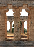 Columns paestum Royalty Free Stock Photos