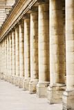 Columns Palais Royal Royalty Free Stock Photography