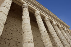 Columns of Pantheon Royalty Free Stock Photography