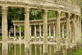 Columns in the Parc Monceau Royalty Free Stock Photos