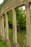 Columns in the Parc Monceau Royalty Free Stock Images