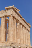 Columns of Parthenon temple Royalty Free Stock Photography