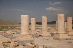 Columns, pasargadae, iran Stock Images