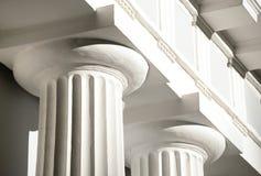 Columns of pavilion on Yelagin Island. Stock Image