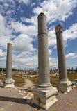 Columns at Perga in Turkey Royalty Free Stock Photo
