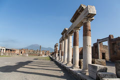 Columns by Pompeii Road Stock Image