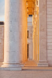 Columns of the portico State opera and ballet theatre Stock Image