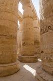 Columns in Precinct of Amun-Re  (Karnak, Luxor, Egypt) Royalty Free Stock Photography