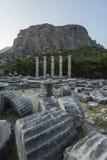 Columns of Priene Royalty Free Stock Image