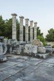 Columns of Priene Stock Photo