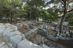 Columns of Priene Royalty Free Stock Images