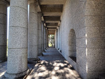 Columns at the Rhodes Memorial, Cape Town, South Africa Royalty Free Stock Image