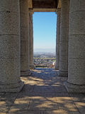 Columns at the Rhodes Memorial, Cape Town, South Africa Royalty Free Stock Images