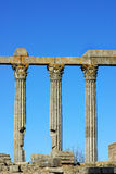 Columns of  Roman temple. Royalty Free Stock Photos