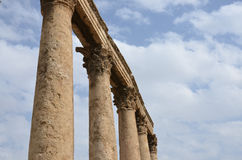 Columns, Roman Theatre Royalty Free Stock Image