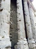 Columns in Rome Royalty Free Stock Photos