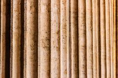 Columns in a row stock photo