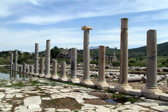 Columns and ruins Stock Image