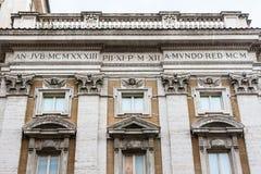 Columns Santa Maria Maggiore, Rome Stock Photos