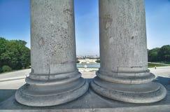 Columns in Schonbrunn Park, Vienna Royalty Free Stock Photos