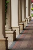 Columns and Shadows Royalty Free Stock Image