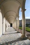 Columns and shadows at the Certosa di San Martino - Naples, Italy Stock Photos
