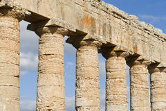 Columns in Sicily Royalty Free Stock Photos
