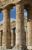 The columns of Sicily Stock Photos