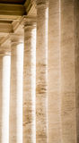 Columns in Side Light Stock Images