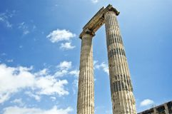 Columns and sky Royalty Free Stock Image