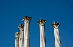 Columns in the sky Stock Photography