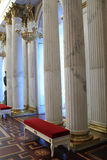 Columns of St Georges Hall Royalty Free Stock Image