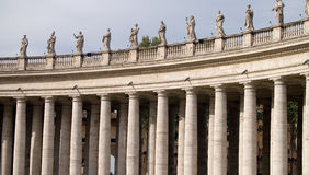 Columns St. Peter's Square, Stock Photography