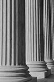 Columns at the Supreme Court Royalty Free Stock Photography