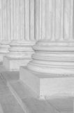 Columns at the Supreme Court Stock Photography