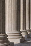 Columns at the Supreme Court Stock Images